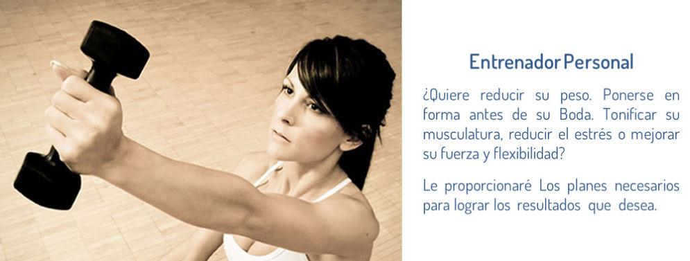 Entrenador-Personal y fitness. Susana Alonso Fitnes