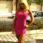 Preparadora personal de fitness femenino